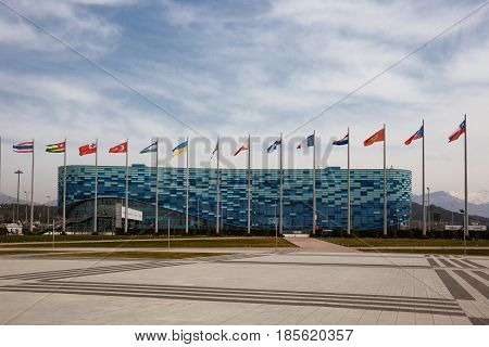 Sochi Russia-11 March 2017: the Ice Palace