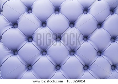 Lilac background upholstery on furniture in factory