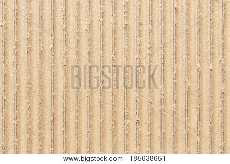 Surface of corrugated brown paper,Abstract texture for the background