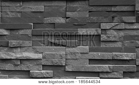 Concrete block brick long ago can be used as a background.