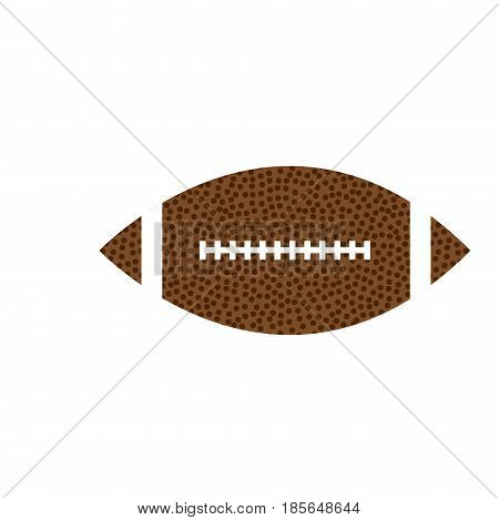 Vector Gridiron Ball for use on posters or as a logo