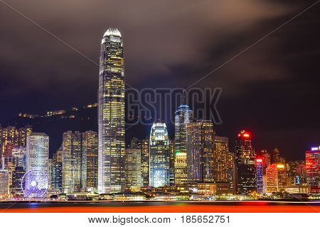Cityscape Of Hong Kong