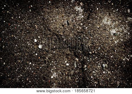 Asphalt, asphalt texture, abstract grunge background, cracked asphalt