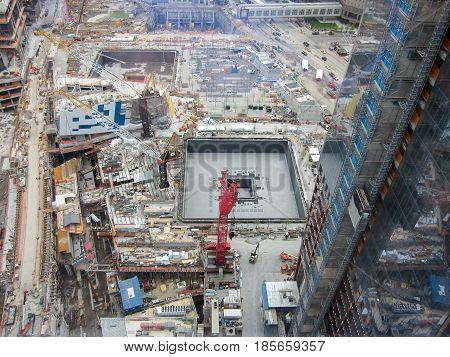 World Trade Center Site Construction - Nyc