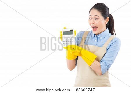 She Is Excited To See The Price Of Monthly Bill