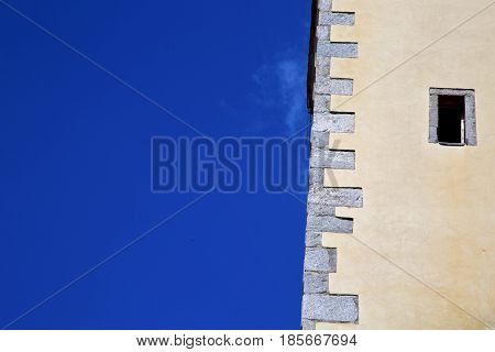Lombardy Italy  Varese Abstract   Walcf A Curch Broke