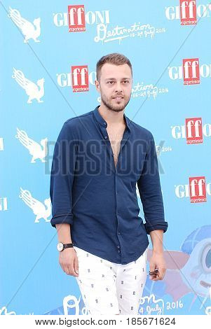 Giffoni Valle Piana Sa Italy - July 18 2016 : Son Pascal at Giffoni Film Festival 2016 - on July 18 2016 in Giffoni Valle Piana Italy