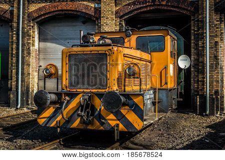BERLIN - APRIL 21: Diesel engine