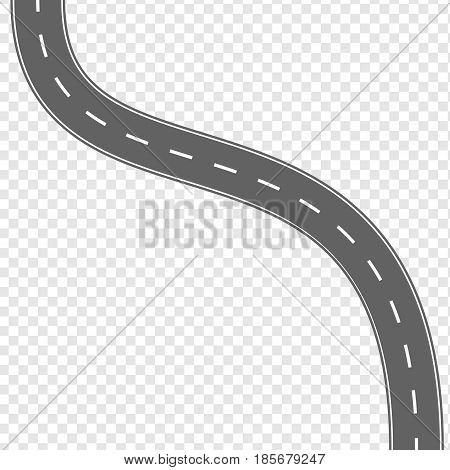 Asphalt Road Vector