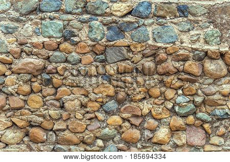 Old stone cement grunge material background texture