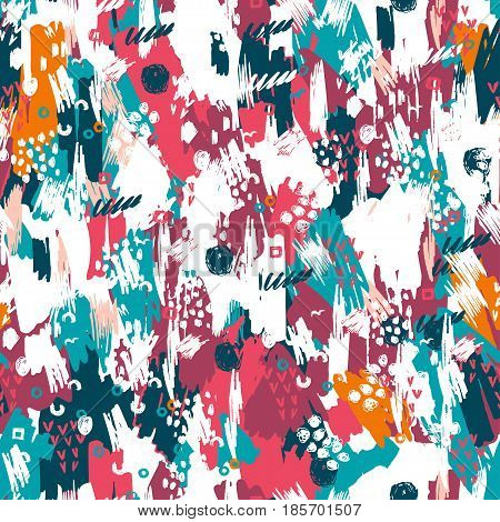 Artistic Vector Seamless Pattern.