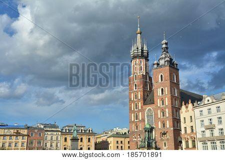 Main Square In Krakow