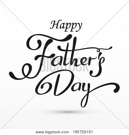 Happy Fathers Day greeting. Vector background with doodle neckties, bow tie and glasses.