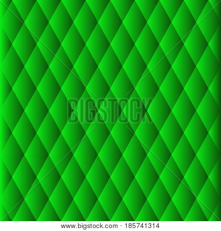 green background, design, web in style of low poly