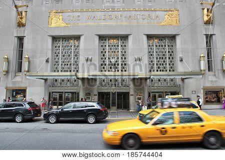 Waldorf-astoria, New York