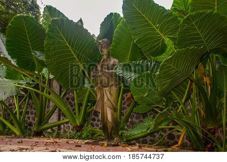 Sculpture In The Tirta Gangga Park, Karangasem, Bali, Indonesia.