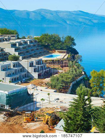 Sea Resort Construction Site