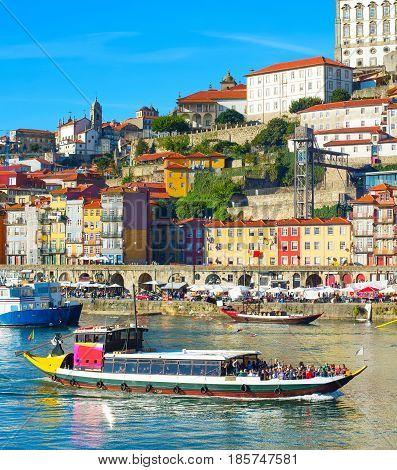 Tourist Boat In Porto, Portugal