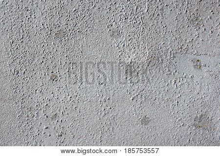 Multicolored Peeling Wall Texture And Background. Surface With Pimples, Stains. The Colors Like Used
