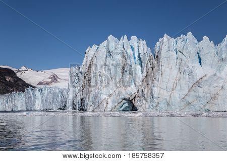 Perito Moreno Glacier in Argentina's Los Glaciares National Park