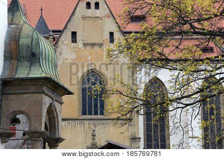 Levoca, Slovakia. Old architecture