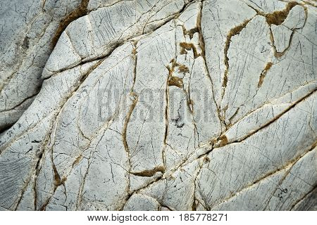 Abstract background or texture limestone with quartz lines