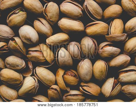 Pistachios Picture, Faded Vintage Look
