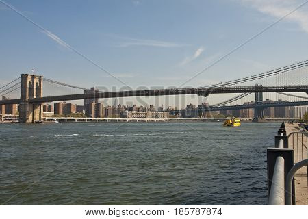 New York, The Brooklyn Bridge