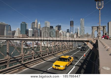 New York, The taxicabs of New York City