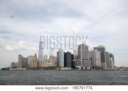 Lower Manhattan And The Financial District