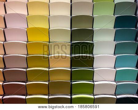 Paint. Concept of Painting. Paint color samples. Color Swatches to Pick Paint Colors, color samples of paining, colorful samples, store paint samples