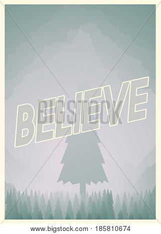 Believe be inspired development graphic