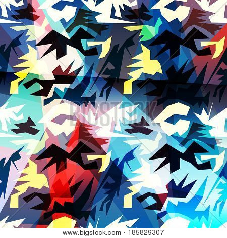 colored abstract pattern graffiti vector illustration abstract high quality