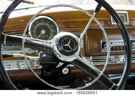 Paaren Im Glien, Germany - May 19: Cab's Most Prestigious And Expensive German Car 50S, Today's Anal