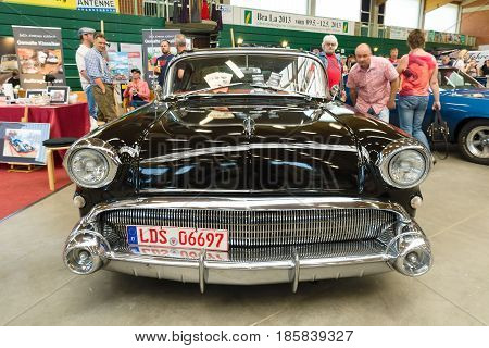 PAAREN IM GLIEN GERMANY - MAY 19: The Full-size car Buick Special Riviera Series 40 1957