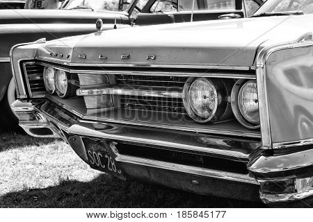 Paaren Im Glien, Germany - May 19: Full-size Car Chrysler 300 4-door Hardtop, (chrysler 300 Non-lett