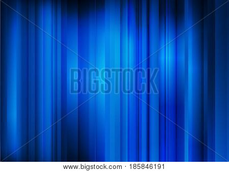 Abstract dark blue background with parallel strips-vector illustration
