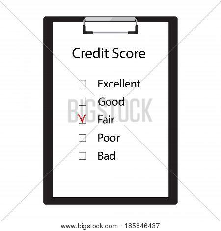 Credit Score Vector