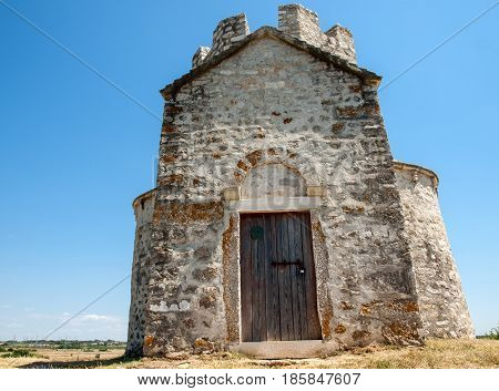 The church of St.Nicolas XI century Nin Croatia