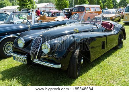 Paaren Im Glien, Germany - May 19: Sports Car Jaguar Xk120 Roadster Ots,