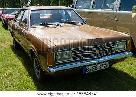 Paaren Im Glien, Germany - May 19: The Ford Taunus Tc Is A Family Car Sold By Ford In Germany And Ot