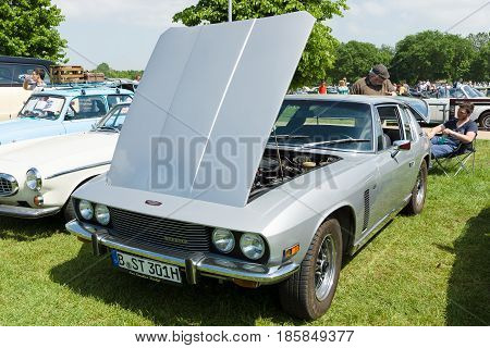 Paaren Im Glien, Germany - May 19: The Grand Tourer Car Jensen Interceptor Ii,
