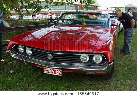 Paaren Im Glien, Germany - May 19: The Ford Torino Was An Intermediate Automobile Produced By The Fo