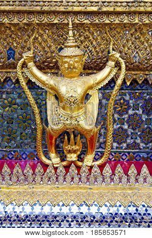 Demon   The Temple Bangkok Asia   Thailand