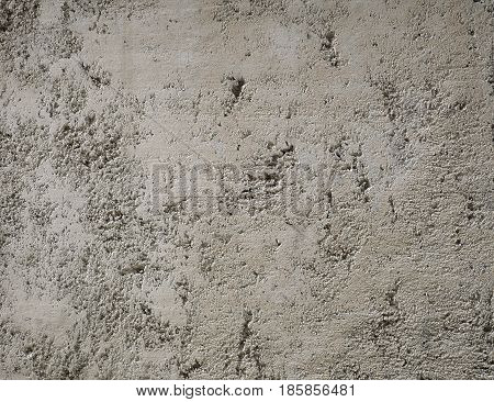 Putty wall texture grey broun. Fine grained