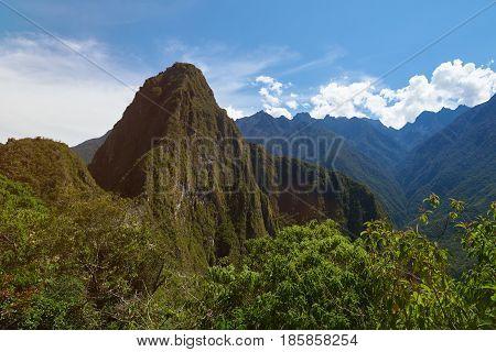 Huayana Picchu Mountain