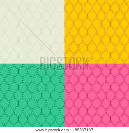 Geometric background, colours pink, green, brown, grey
