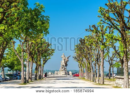 Monument for Sadi Carnot, an ancient French President. Angouleme - Charente, France