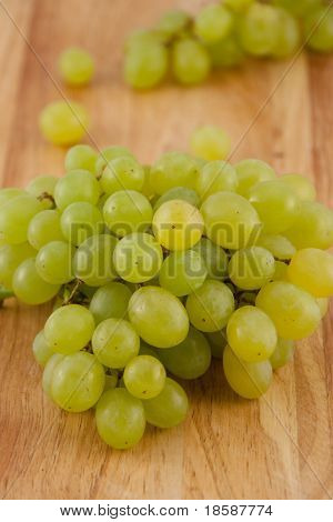 Delicious Green Grapes