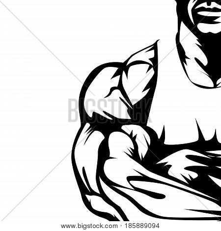 Body Builder Isolated 7